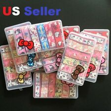 "12 Yards (12 Different Pattern ) 7/8"" / 1"" HELLO KITTY  GROSGRAIN RIBBON In Box"