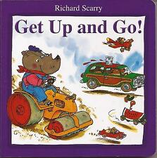 GET UP AND GO by Richard Scarry Children's Reading Picture Story Board Book NEW