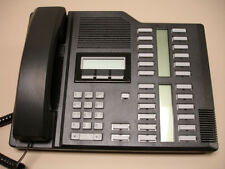 5 Refurbished Black Norstar M7324 Phones, Nortel (NT8B40), Northern Telecom