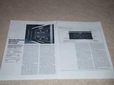 Soundcraftsmen Ma-5002a Amplificador Revisión, 2 Pgs ,