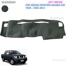 Left Lh Dash Mat Dashmat Carpet Cover Fits Nissan Navara Frontier D40 2005-2014