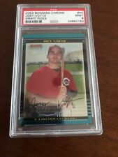 2002 Bowman Chrome Joey Votto Cincinnati Reds #44 Baseball Card Psa 9