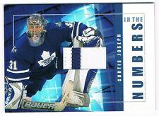 2001-02 BAP SIGNATURE SERIES IN THE NUMBERS PATCH ITN-24 CURTIS JOSEPH ONLY 10 !