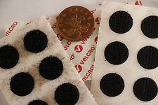 à coller sur 16mm Adhésif NOIR VELCRO Crochet Et Boucle Pièces 16 & 16