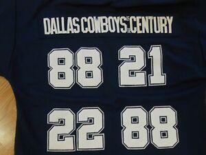 Vtg MITCHELL & NESS USA Throwbacks 88 21 22 88 NFL JERSEY Dallas COWBOYS Men 3XL