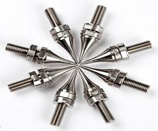 Track Audio M12 Carpet Spikes (Pack of 8) - Floor Protection Stand Isolation