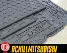 2018 genuine MITSUBISHI  OUTLANDER SPORT ALL WEATHER RUBBER MATS FLOOR MZ314487