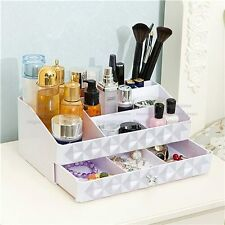 ABS Cosmetics Storage Organizer Jewelry Accessories Holder Makeup Brushes Case