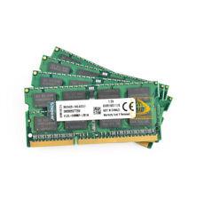 Kingston Kits 4x 8GB 2RX8 PC3-12800S DDR3 1600Mhz SODIMM Laptop Memory RAM PC128