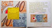 BRAZIL 10 Reis 2000 Millennium Polymer Note in Folder UNC P. 248a  A 0001 Low #