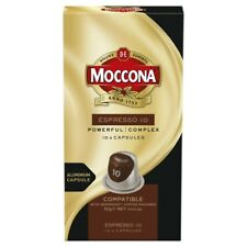 Moccona Espresso Coffee Capsules 10 pack 52g