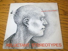 """RELUCTANT STEREOTYPES - PLANS FOR TODAY     7"""" VINYL PS"""
