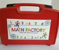 Math Factory Kit - Home School - Builds Math Skills for Success - Nice - READ