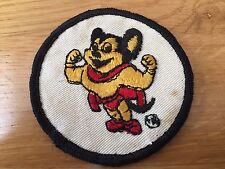 Vintage Mighty Mouse Cartoon TV Nostalgia Patch