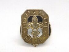 More details for 1964 vintage english sterling silver scouts