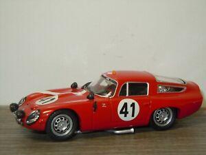 Alfa Romeo TZ1 Racing Le Mans 1964 - Best Model Italy 1:43 *40485