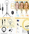 AUSI LED Selfie Ring Light 14 Inch with Tripod Stand Phone...