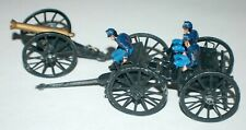 US Civil War Cannon , Limber, Caisson, and 3 Canoneers