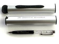 Exklusiver Kugelschreiber mit Automatik Box und Ihrer Gravur auf Kuli UND Etui !