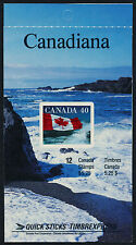 Canada 1193a Booklet BK127e MNH - Flag over sea coast