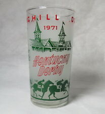 1971 Kentucky Derby Glass - Aristide to Dust Commander