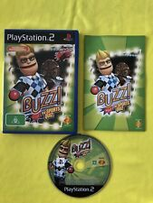 BUZZ! The Sports Quiz. (2006) PlayStation 2 Game. PAL. Complete. LIKE NEW.