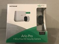 NETGEAR Arlo Pro 1 Wire-Free HD Security Camera System VMS4130-100NAS New in Box