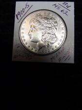 1900-S (BU) Morgan Silver Dollar, BRIGHT UNCIRCULATED & MIRROR Finish