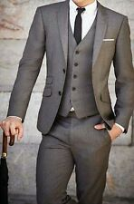 Fashion New Mens Groom Tuxedos Wedding Suits Business Suits Bridegroom Tailcoats