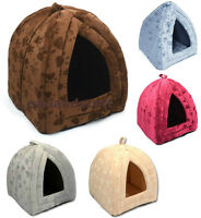 New Pet House Igloo Cave - Bed for Cats or Small Dogs