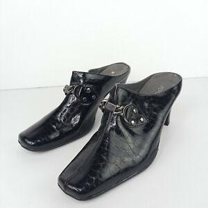 Aerosoles Mules Women Size 7.5 Black