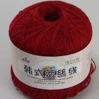 AIP Thread No.8 Cotton Crochet Yarn Craft Tatting Hand Knit Shawl Lace 50grX2 13
