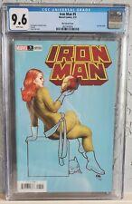 Iron Man #5 (2021). NM/NM+ CGC 9.6 Frank Cho Variant 1:50  HELLCAT