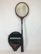 Vintage Donnay  Squash Racquet Gordon Anderson With Cover Super Pro