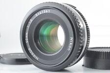 【NEAR MINT】 Nikon Ai-s Nikkor 50mm F/1.8 Pancake Prime MF Lens From JAPAN #411