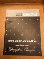 Marantz SR640 SR440 Receiver Service Manual Original Factory Repair Schematic