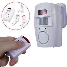 105dB Alarma Detector de movimiento Inalámbrico Seguridad remoto por infrarrojos