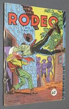 PETIT FORMAT LUG RODEO EO N°72 AOUT 1957 MIKI LE RANGER TEX WILLER