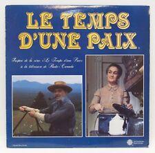 Le Temps D'une Paix LP Vinyl Album Record 1984 DD PYD-425
