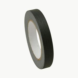 JVCC JV497 Black Masking Tape: 3/4 in. x 60 yds. (Black)