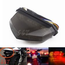 Universal Tail Light Motorcycle LED Stop Signal Indicator Integrated Lights