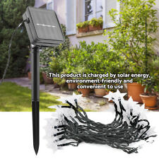 30 LED Star Solar Powered Lamp Fairy String Lights for Christmas Garden Decors
