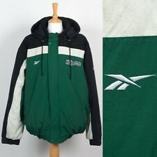VINTAGE REEBOK MICHIGAN STATE WARM PADDED WINTER JACKET USA COLLEGE SPARTANS XXL