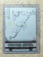 13-14 UD Serie 1 Rookie RC #240 YG Young Guns JUSTIN SCHULTZ Printing Plate 1/1