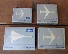original  Schuco  Flugzeug Lufthansa 4 verschiedene Modelle im Karton Concorde