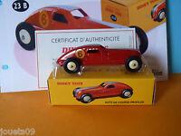 F1 auto de course profilée Dinky Toys Atlas ref  23 B au 1/43