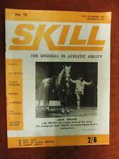 Skill Magazine Physical culture, Circus etc No78 1970 E