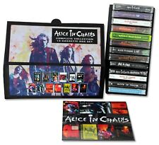 ALICE IN CHAINS - 13 cassettes NEW!/SEALED! custom box set lot w/promos singles