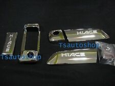 FOR TOYOTA HIACE COMMUTER 2005-2013 CHROME 3 DOOR HANDLE COVER TRIM