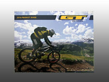 Collectable 2010 Gt bicycle, Featuring new products catalog & riders photos